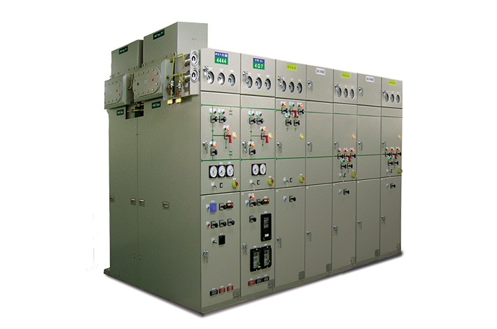 Cubicle Type SF6 Gas Insulated Switchgear(C-GIS)